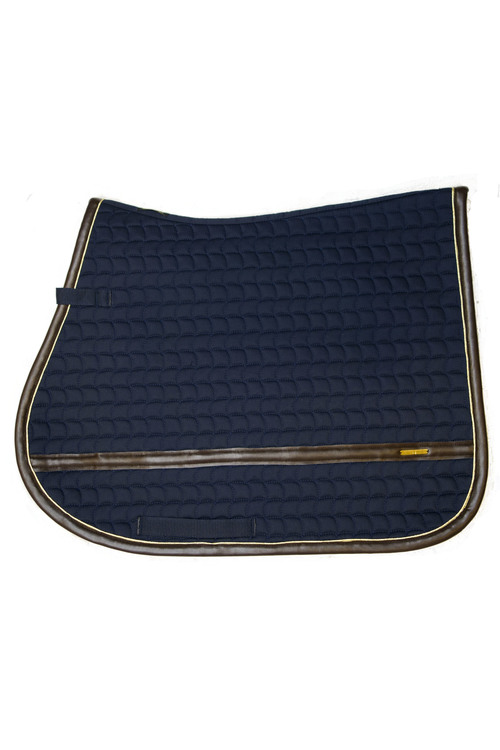LEATHER EDGE NAVY JUMP