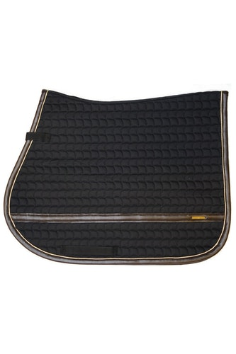LEATHER EDGE BLACK JUMP