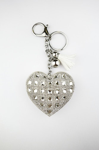 HEART WHITE DIAMOND