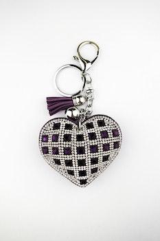 LILA HEART DIAMOND