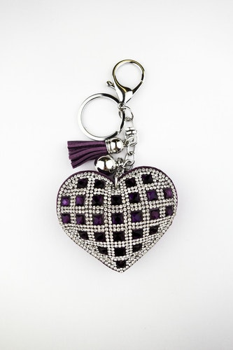 LILA HEART DIAMOND