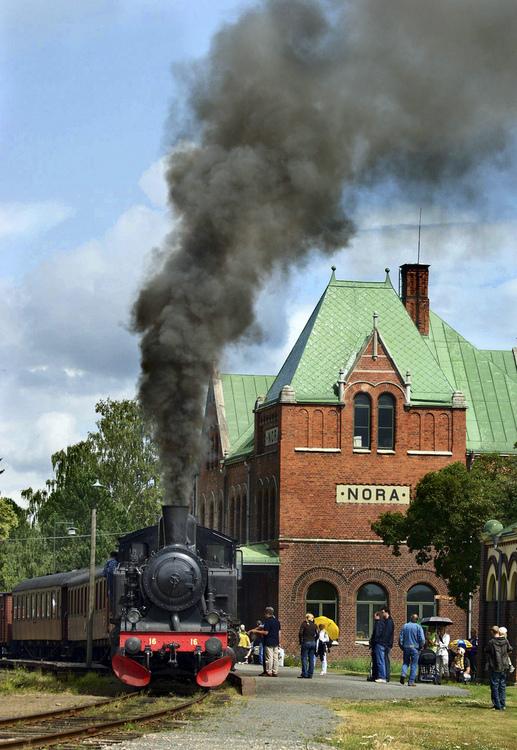 2019-07-07 - Veterantåg Nora - Järle