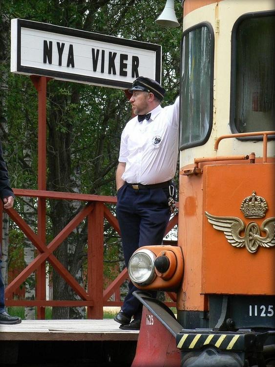 2019-07-27 - Rälsbuss Nora - Pershyttan/Gyttorp
