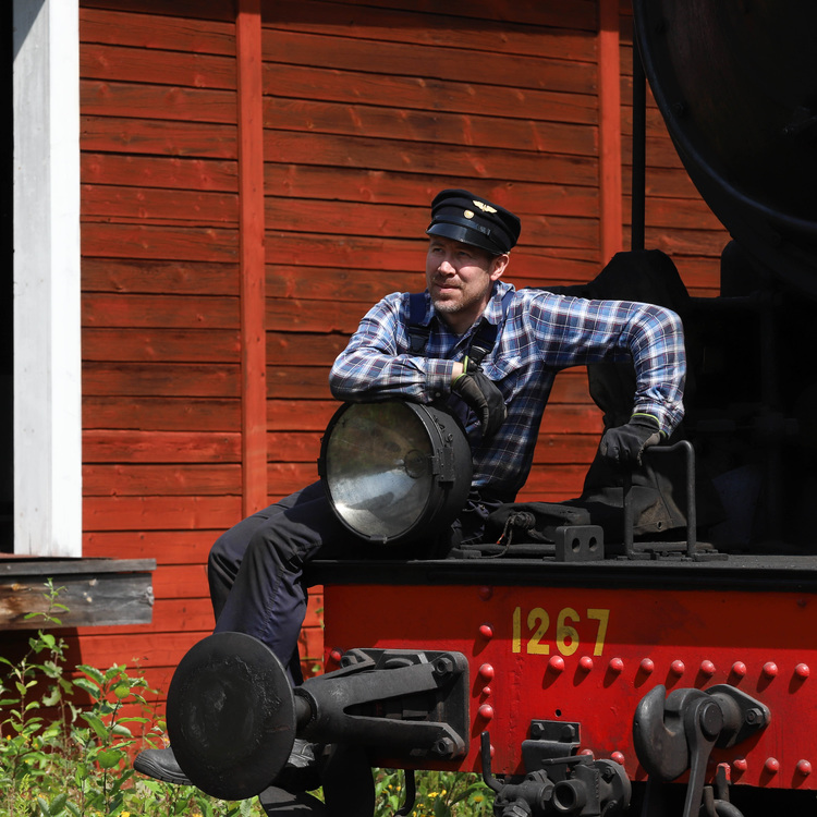 2020-08-08 - Ångtåget Nora - Järle
