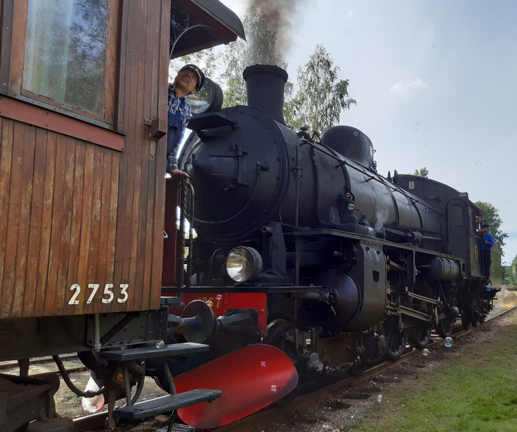 2021-07-08 - Ångtåget Nora - Järle