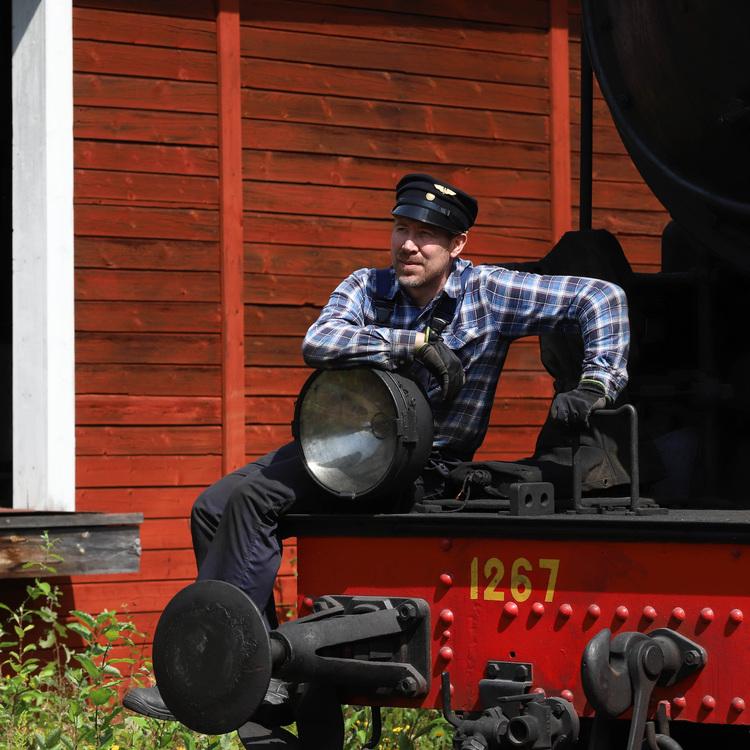 2021-08-07 - Ångtåget Nora - Järle