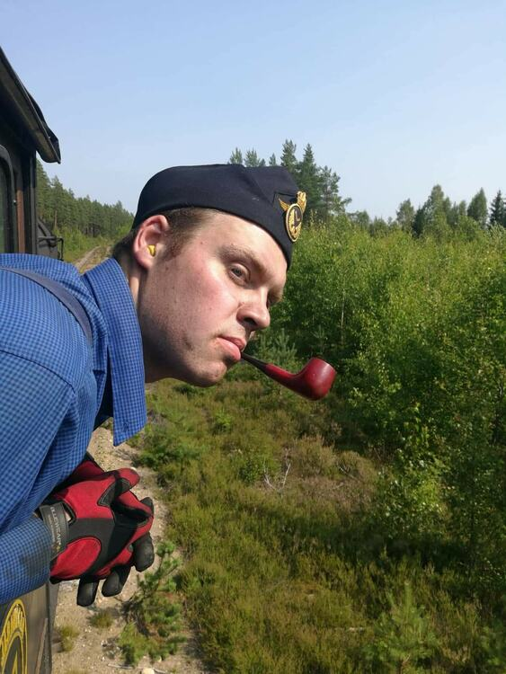 2021-08-28 - Blandat ångtåg Nora - Järle