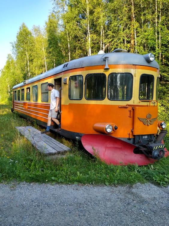 2021-08-29 - Rälsbuss Nora - Gyttorp/Pershyttan - Bengtstorp