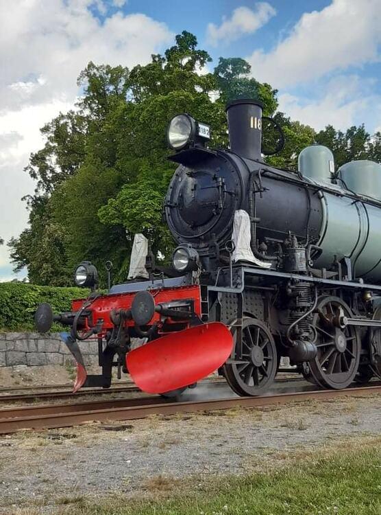 2021-08-28 - Ångtåget Nora - Järle
