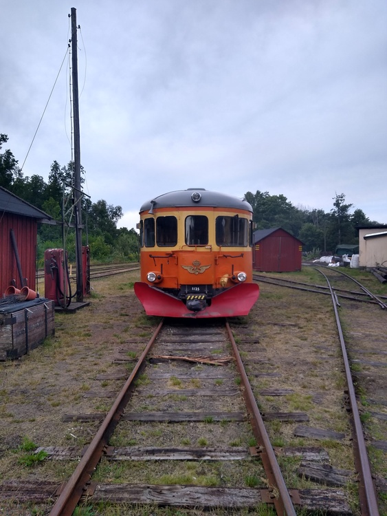 2021-08-14 - Rälsbuss Nora - Gyttorp/Pershyttan - Bengtstorp