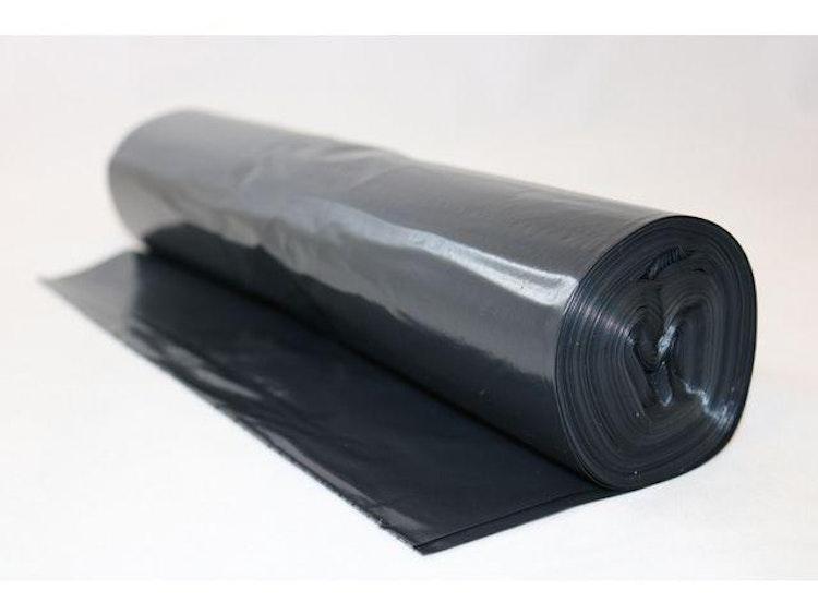 Plastsäck LD 70L 50my svart 25/RL