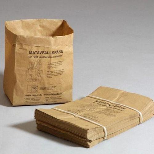 Matavfallspåse SANSAC Papp 9L, 80/fp