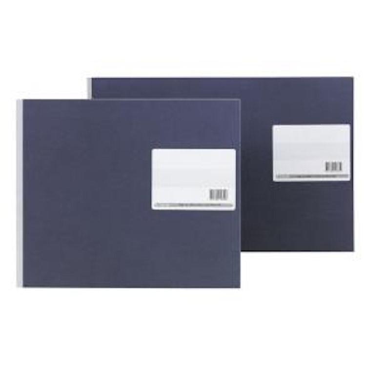 Bokföringsbok, 380x250mm, 11 D-kolumner, 5 E-kolumner