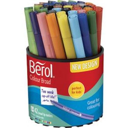 Fiberpenna BEROL Colourbroad 42/FP