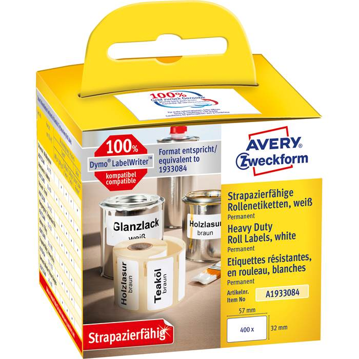 Avery Etiketter durable 57x32mm