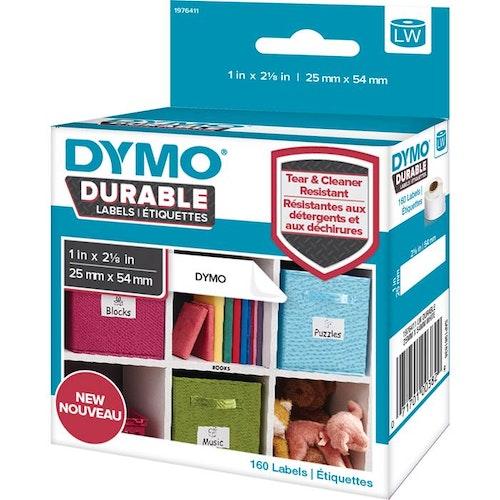 Etikett Dymo X-tålig 25x54mm