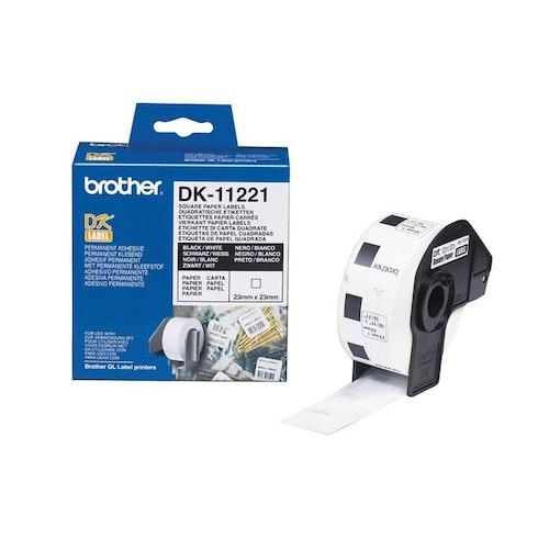 Etikett DK11204 54x17mm 400/rl