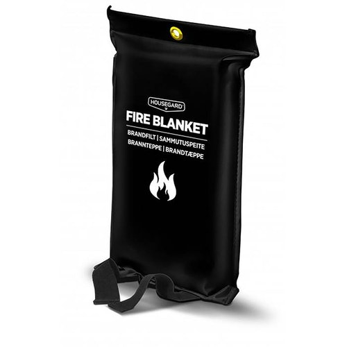 Brandfilt Houseg 120x180 svart