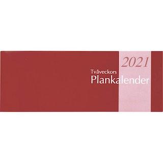 Kalender Tvåveckors Plankalender 2021