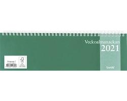 Kalender Veckoalmanackan 2021
