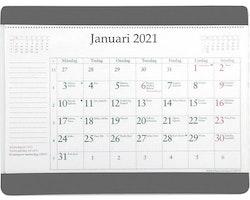 Kalender Musmatta med månadsblock 2021