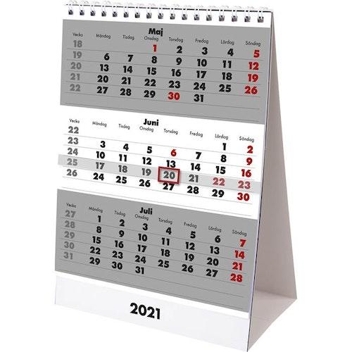 Kalender Bordskalender Triplaner 2021