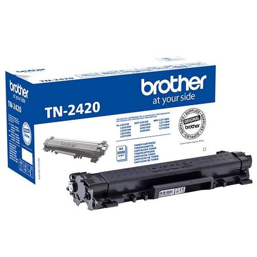 Toner Brother TN2420 svart 3k