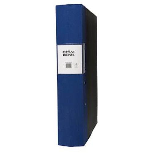 Träryggspärm A4 60 mm blå
