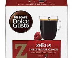 Kaffekapsel Mollberg Dolce Gusto 16 st/fp Zoegas
