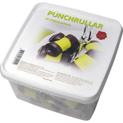 Punchrullar singelpackade 900 gram/20-pack