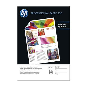Laserpapper HP A4 glossy150/fp