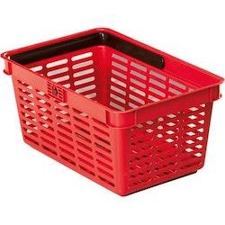 Kundkorg Durable 19 liter röd