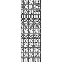 Prismärkare Avery 826 26 x 12 mm