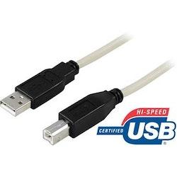 USB-2 kabel A-B 2,0m