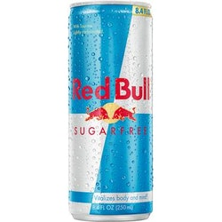 Redbull sugarfree 25cl inkl.pa