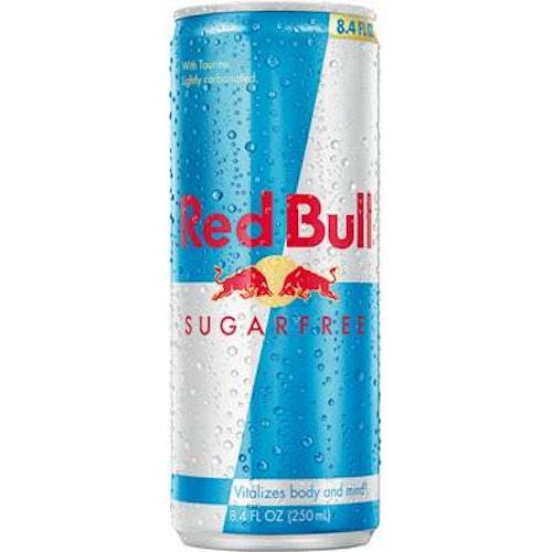 Redbull sugarfree 25cl inkl.pa