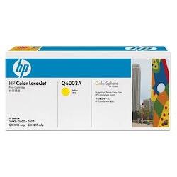 Toner HP Q6002A 2k gul
