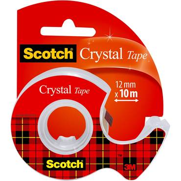 Kontorstejp Scotch 550 Transparent, 19mm x 33m