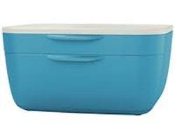 Lådförvaringsbox Leitz Cosy blå