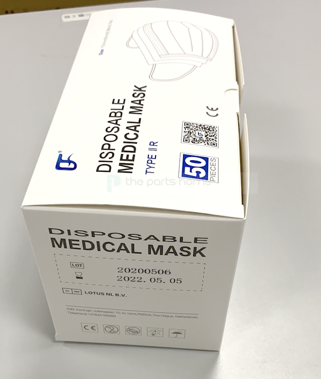 Disposable Protective Mask 50-pack
