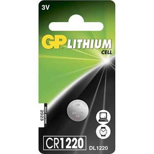 Batteri GP Lithium CR1220