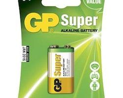Batteri GP Super 9V 1/fp