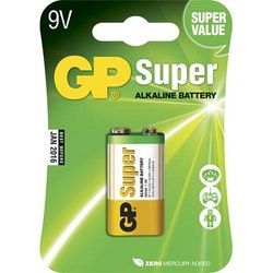 Batteri GP Super 9V 1/fp
