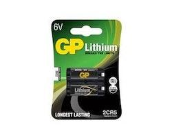 Batteri GP Lithium 2CR5 6V
