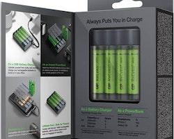 Batteriladdar GP Charge AnyWay