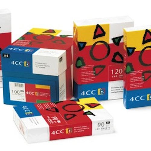 Kopieringspapper 4CC A4 90 gram 500 st/fp