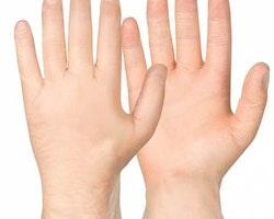 Handske Vinyl puderfri L 100/.