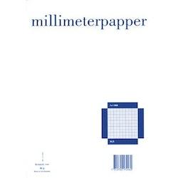 Millimeterpapper A4 50blad