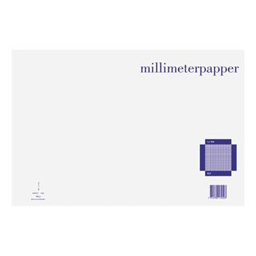 Millimeterpapper A3L 50blad