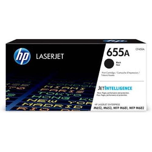 Toner HP 655A CF450A svart 12500 sidor